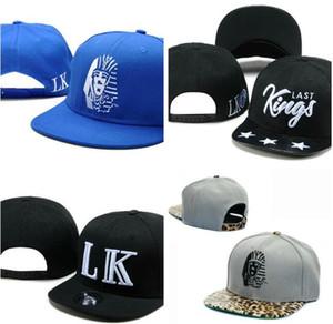 Yüksek Kaliteli lastking Snapback Kapaklar Şapkalar Yaz LK Snapbacks Yapış Geri Serin Şapka Hip Hop Sokak Erkek Kadın Beyzbol Şapkası Ucuz Satış