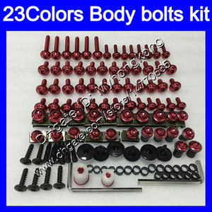 boulons Carénage kit complet de vis pour YAMAHA FJR1300 06 07 08 09 10 12 FJR 1300 2006 2007 2008 2010 2012 boulon écrou vis Nuts Body kit25Colors