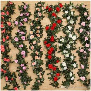 Wholesale 11 Cabeça De Seda Flores Artificiais para Cerimônia de Abertura Do Casamento Rosa Vermelha Champagne Decorativa Flor Rosa Murais De Parede Montado Romântico