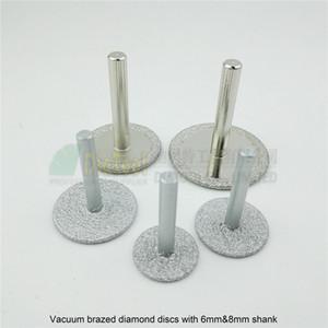 DIATOOL 2pcs Dia 25mm / 30mm / 35mm / 40mm / 50mm Disco de corte de hoja de sierra de diamante soldado al vacío para esmerilado grabado Granito Mármol Concreto