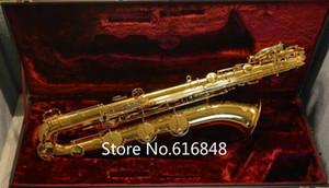 Jupiter JBS1000 Baryton Saxophone Corps En Laiton Or Laque Surface Marque Instruments E Flat Sax Avec Embouchure Étui En Toile