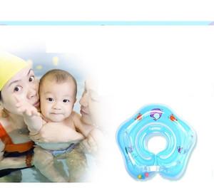 Neugeborener aufblasbares Nackenschwimmring Baby-Schwimmen-Schwimmer angepasst Baby aufblasbare Schlauch-Rings Sicherheit Swimpool Spielzeug