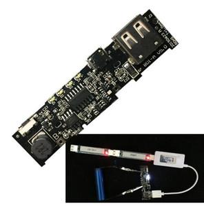 Spedizione gratuita! 2 pz 5 V 2.1A Power Bank Caricatore Consiglio Modulo PCB Step Up Boost Modulo di Potenza Batteria FAI DA TE 8650 Per Xiaomi