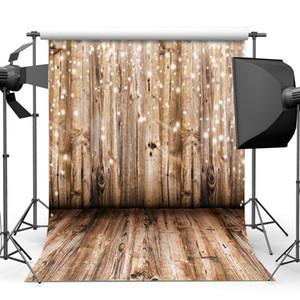 5x7ft madera telón de fondo Fotografía de vinilo fondo del modelo de piso de madera fondos de fotografía Decoración Wallpapers Studio Puntales