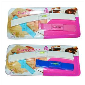 DIY Beauty ABS Clipper Fringe Haar-Ausschnitt-Ebene Bangs Clipper Frisur Trim Lineal Tool Guide für Schichten Schnelle Lieferung