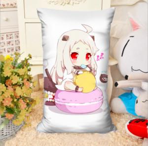 2pcs / lot Varios anime Cartoon Rectangle Animation Around Body Pillow Regalos creativos Sofa Cushion con Core Double-Sided Home Textile