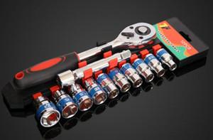 Ключ торцевой гаечный ключ CR-V Drive Набор гаечных ключей для велосипеда, мотоцикла, автомобиля, ремонт инструмента Набор головок