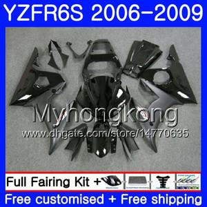 Cuerpo para YAMAHA YZF R6 S R 6S YZF600 YZFR6S Stock marco negro 06 07 08 09 231HM.2 YZF-600 YZF R6S YZF-R6S 2006 2007 2008 2009 Fairings Kit