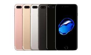 """Réformé Apple iPhone original 7 iphone7 Quad Core 4.7"""" 2 Go de RAM 32 Go / 128 Go / 256 Go ROM empreinte IOS 12MP 4G LTE téléphone débloqué"""
