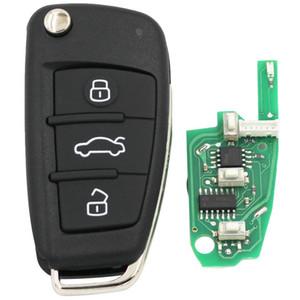 Chiave telecomando Audi a 3 tasti KEYDIY B02 per KD300 e KD900 per produrre qualsiasi modello remoto