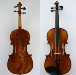 Master Violon Stunning Sound Straidvari 1716 Messiah Violin Modèle Brun Foncé