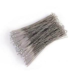 Bottiglie in acciaio inox filo spazzola di pulizia Cannucce spazzola di pulizia spazzola Cleaner 17,5 centimetri * 4cm * 6mm