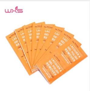 100 Pcs Unha Polonês Removedor Wraps UV Gel Unha Polonês Fácil Soak Off Removedor Wipes Manicure Ferramentas Removedor de Unhas Mais Limpo