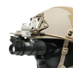 L4G24 OPS esqueleto ligero de aluminio táctico casco visión nocturna NVG Monte sepia seca