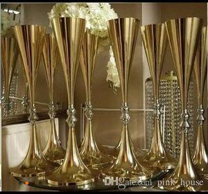 Centrotavola da tavolo in metallo da vaso da sposa in metallo con vaso da 70 cm, per vasi da fiori in metallo Mariage