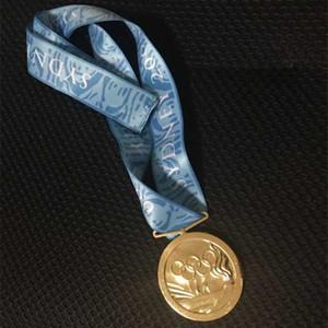 1 Stk. Das 2000-jährige Sydney 27. Olympische Goldmedaillengewinnspiel wurde mit einem 60-mm-Abzeichen mit Band ausgezeichnet