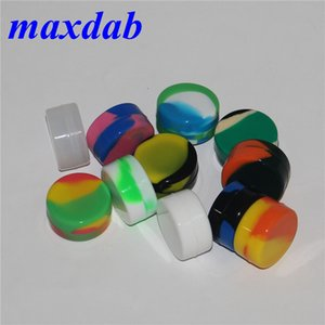 Nonstick wax containers silicone box 3ml silicon container food grade jars dab tool storage jar oil holder for vaporizer vape FDA approved
