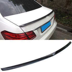 A Style Carbon fiber Boot Spoiler Fit For Benz 4Door E-Class W212