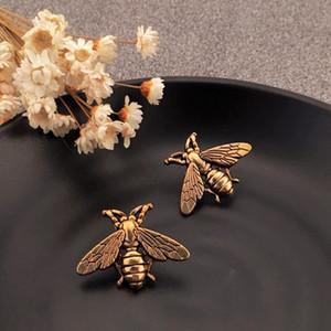 Mulheres Homens Retro Inseto Bee Brooch Vintage Bee Broche Fato Lapela Pin Jóias Acessórios Presente Para O Amor