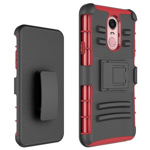 For Iphone XS XS max Armor Hybrid Case PC Sillicon Protective Case 3 in 1 Combo Belt Clip Protective Defender Kickstand Phone Cover