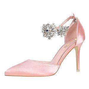 Diseñador de verano de lujo de la marca de zapatos de mujer para la novia bombas de tacones altos de moda parte inferior roja fiesta de noche niñas sandalias regreso a casa zapato de las señoras