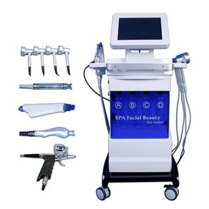 Hydrafacial dermoabrasione macchina diamante microdermoabrasione uso domestico ossigeno aqua jet peel BIO-lifting ultrasuoni pelle peeling bellezza equipmen