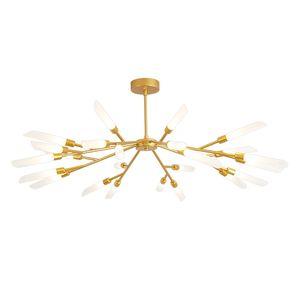 Европейский стиль chandelie лампа спальня прикроватные лампы LED фон стена ангела стена лампы гостиная телевизор стена проходы лестница светильники 110-240V
