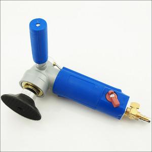 """Ponceuse à air pneumatique pneumatique de type 3 """"4"""" de l'eau, broyeur d'angle de polisseur humide à air"""