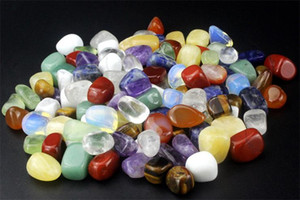 200g Tumbled Stone Beads and Bulk Assorted Mixed Gemstone Rock Minerals Crystal Stone for Chakra Healing Crystals and Gemstones for Dec