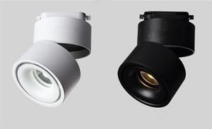Track light 2 Fils LED Track Lamps COB 12W LED Rail Spot Light pour Chaussures En Tissu Boutiques Magasins Par DHL