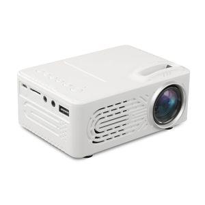 2018 RD-814 led البسيطة العارض 320 × 240 المسرح المنزلي proyector دعم 1080 وعاء المحمولة مقابل YG300 مثالية للفيلم
