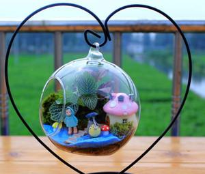 마이크로 생태 조경 병 행잉 거푸집 공사 크리에이티브 Comicalness 유리 공장 냄비 꽃 장식 홈 가구 수경