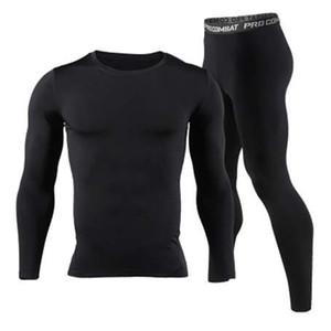 New Men Long Johns Winter Thermal Set intimo Brand Quick Dry Anti-microbico Uomo Stretch Warm Thermo Underwear Primavera