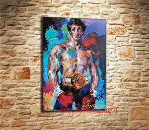 Rocky Balboa, Canvas Pieces Home Decor HD Impreso pintura de arte moderno sobre lienzo (Sin enmarcar / Enmarcado)