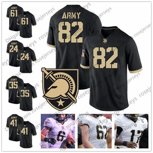 NCAA Army Black Knights # 82 Алехандро Вильянуэва 24 Пит Докинз 35 Док Бланчард 41 Гленн Дэвис 61 Джо Стеффи Уайт Футбол Футбол