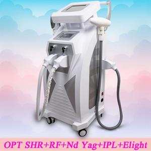 أحدث معدات التجميل متعددة الوظائف 4 في 1 Opt + rf + laser + ipl Shr Skin Rejuvenation Tattoo Machine