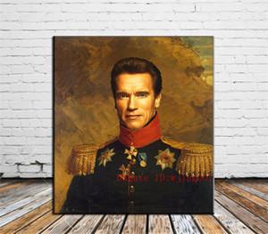 Arnold Schwarzenegger, Tuval Adet Ev Dekorasyonu HD Baskılı Modern Sanat Tuval Üzerine Boyama (Çerçevesiz / Çerçeveli)