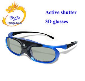 Universale DLP Active Shutter Occhiali 3D 96-144Hz per XGIMI JMGO Most DLP Home Theater Proiettore 3D TV