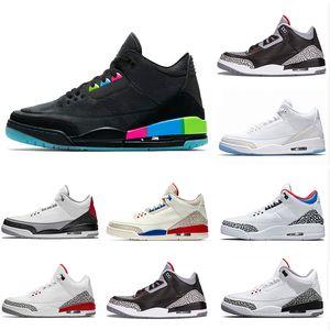 Quai 54 Vol International Séoul Tinker Free Throw Line blanc ciment III Chaussures de basketball Sport Katrina Homme Baskets Hommes designer 41-47