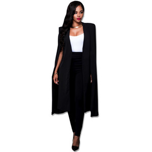 Mode-Stil Herbst neue Persönlichkeit lange Mantel Frauen Anzug Jacke
