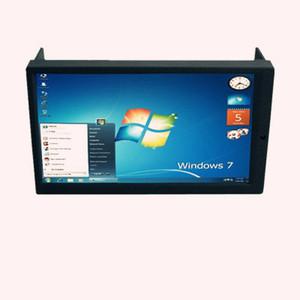 """Frete grátis EMS DHL 6.95 """"Touch Screen Monitor Duplo DIN para PC Do Carro, 2 Painel de Toque DIN Display Carputer, Monitor Do Carro 2DIN"""