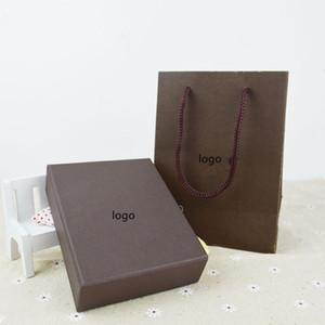 L kolye küpe yüzük moda kutusu high-end takı çekme kutusu takı saklama kutusu