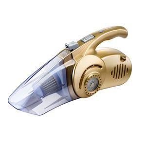 4 in 1 Multi-funzione Wet / Dry Car Aspirapolvere Gonfiatore della gomma Tire Pressure Gauge LED Light 120W Vacuum Handheld