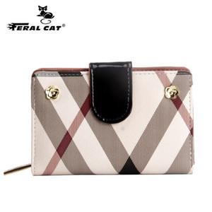 긴 스타일의 지갑에 간단한 여성용 PVC 작은 가방 3 색 무료 배송 2018 새로운 여성 머니 클립