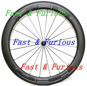 송료 무료 !! HED 카본 휠 50mm 카본 휠 700C로드 카본 자전거 도로 자전거 폭 23mm