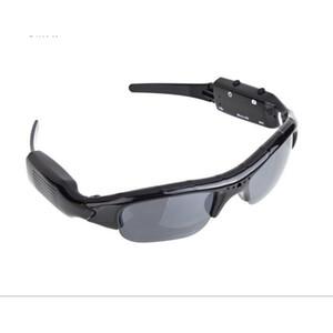 Im Freien Reiten oder Fahren Sonnenbrillen Multi-Funktions-Glas-Digital-Videokamera Sports Wear Resistant schwarzer Brille Männer 30nl jj