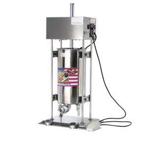 Автоматическая электрическая машина churros коммерческие испанские оладьи машина популярные снэк оборудование большой емкости 15l churros чайник