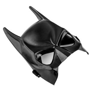 Cadılar bayramı Koyu Şövalye Maskeli Parti Batman Yarasa Adam Maske Kostüm Yetişkinler Için Bir Boyut Uygun ve Çocuklar Için Parti Cosplay