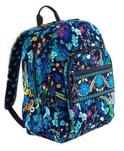 Saco da MOCHILA do algodão do saco da mochila do portátil do terreno do saco da escola do negócio da mochila do curso da mochila do NWT