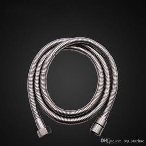 Top Quality 1.5m doccia flessibile in acciaio inox cromato standard capo Bagno tubo flessibile del tubo DHL libero HH9-2581